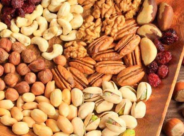 Про орехи и сухофрукты