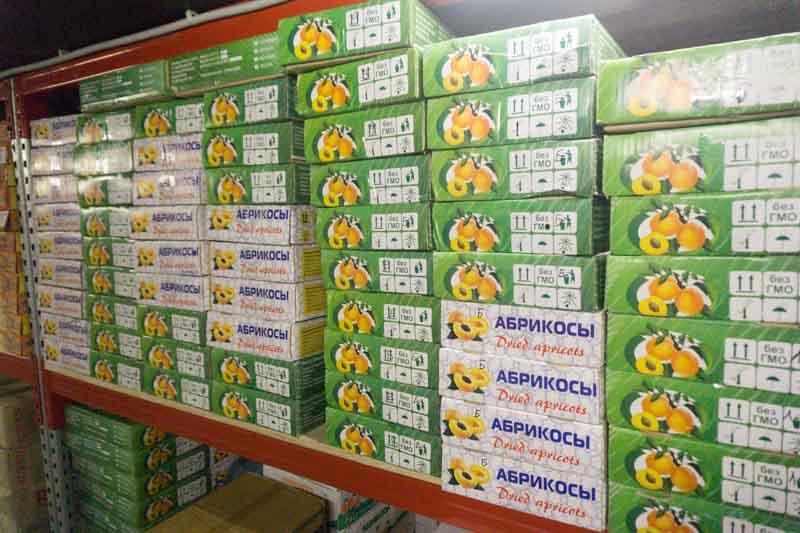 Где хранятся орехи и сухофрукты, закупаемые для ваших заказов? 5