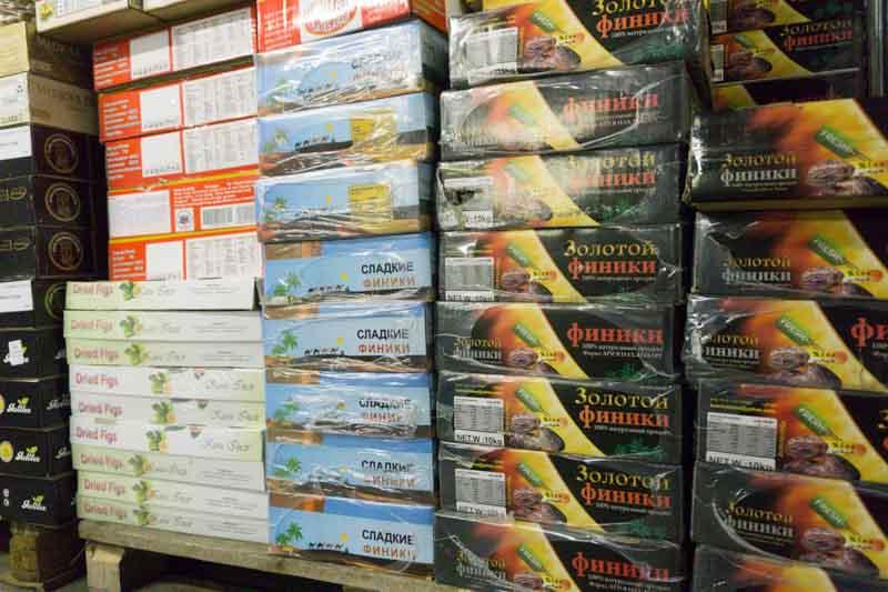 Где хранятся орехи и сухофрукты, закупаемые для ваших заказов? 7